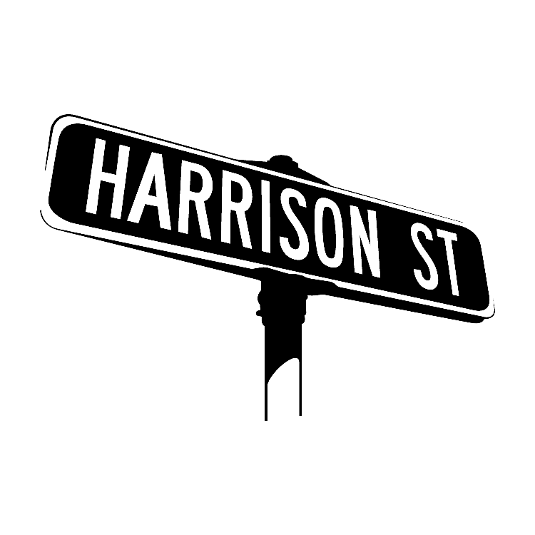 Harrison Street Band Square Logo