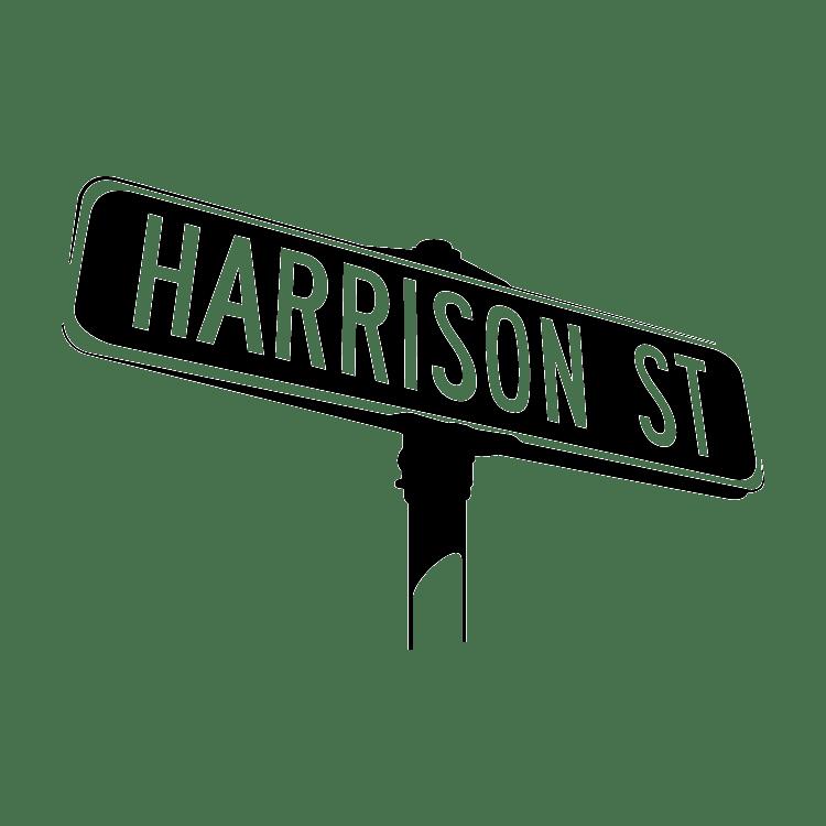 Harrison Street Band Square Logo