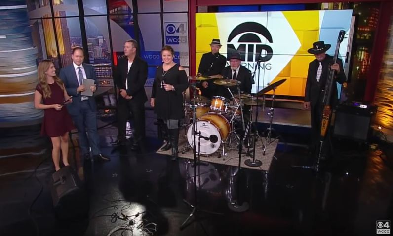 Harrison Street Band Performs on WCCO - Get Down With Blues 'N' Funk In Lowertown
